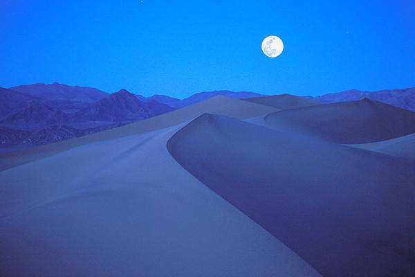 #30 Moonrise, Death Valley Natl. Park, CA