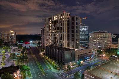 Reston Town Center at Night
