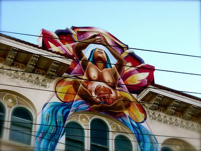 Somewhere on Valencia Street in The Mission. San Francisco, November 2010.