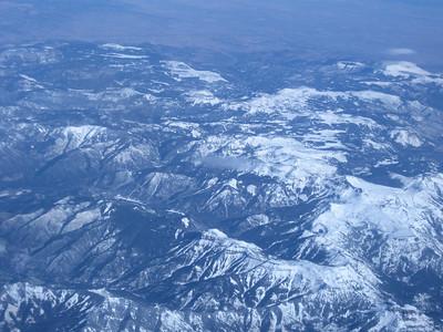 Flying over to SF. November 2010.