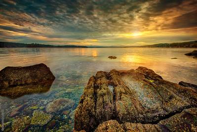 Sunrise at Transfer Beach