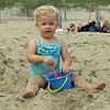 Kamryn at the Beach