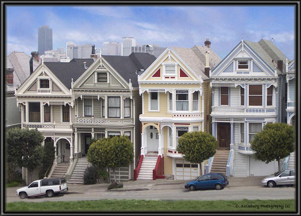 "The ""Painted Ladies"" Of San Francisco."