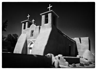 San Francisco de Asis Church Taos, New Mexico