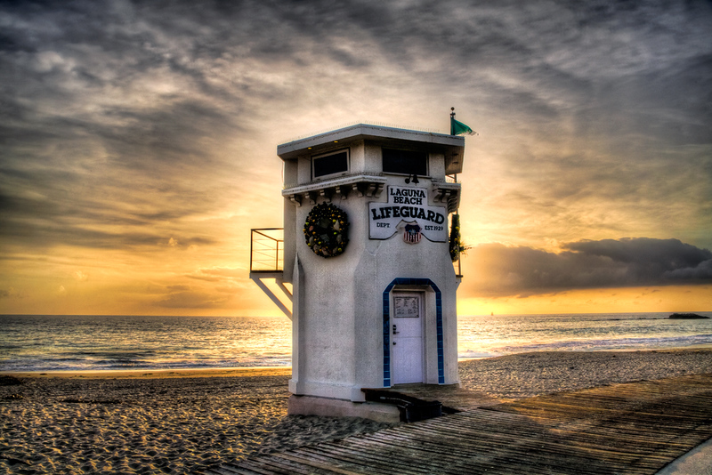 Lifeguard Tower - Laguna Beach, CA
