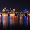 Louisville Kentucky by night