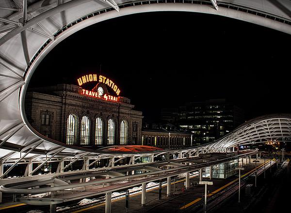 Denvers' Union Train Station