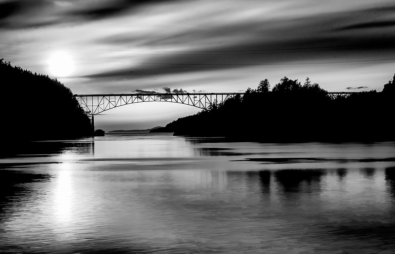Black and White Deception Pass