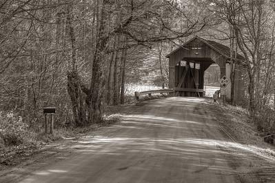 Pine Brook Bridge, Waitsfield