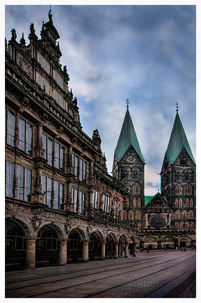 Bremen Germany Square