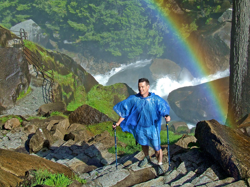 David on Mist Trail