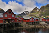 Town of A, in Norway's Lofoten Islands.