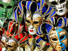 Venice, Italy. The popular Venetian Carnival, held annually, has been an event where wearing special masks goes back centuries. Maskmakers in the 15th century held a special place in society. Masks of varied and unique designs are sold throughout the city at many locations.