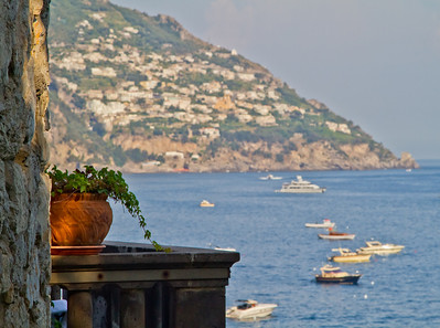 Planter in Positano