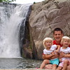 Me and my girls at their first waterfall
