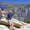 David with Dad at Yosemite