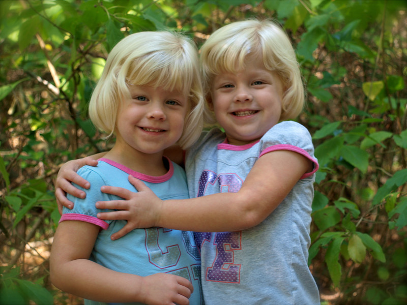 One of my favorite pictures of Kamryn & Sydney.  This was taken at Cliffs of the Neuse in Goldsboro, NC.