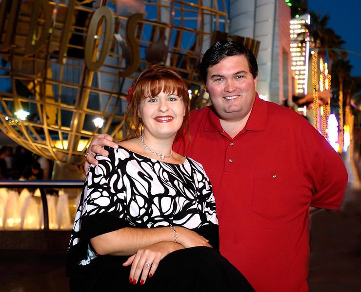 John and Hazel em 1