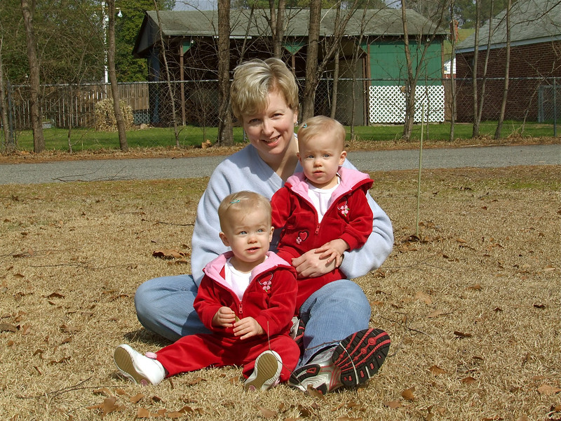 Mom & Girls in February