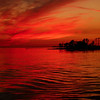 Red sun at night....... sailors delight.