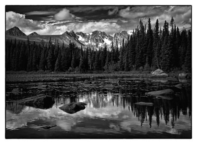 Red Rock Lake Near Brainard Lake Colorado
