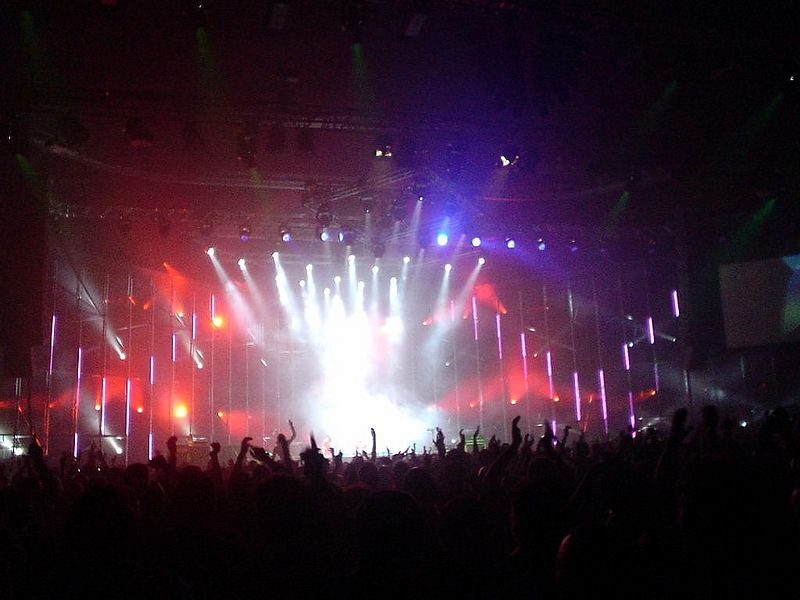 Ferry Corsten concert in Heineken Music Hall, Amsterdam, 2003