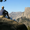 David looking at Half Dome