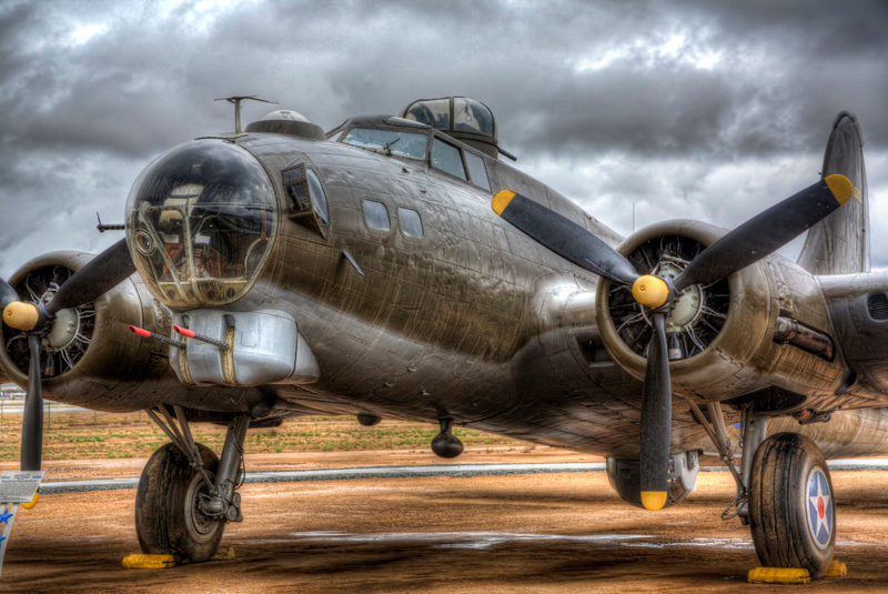 B-17 Closeup