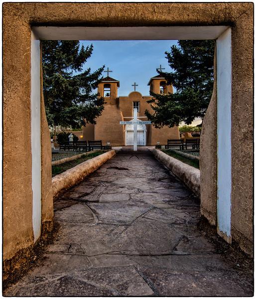 San Fransico de Asis, Taos, New Meico