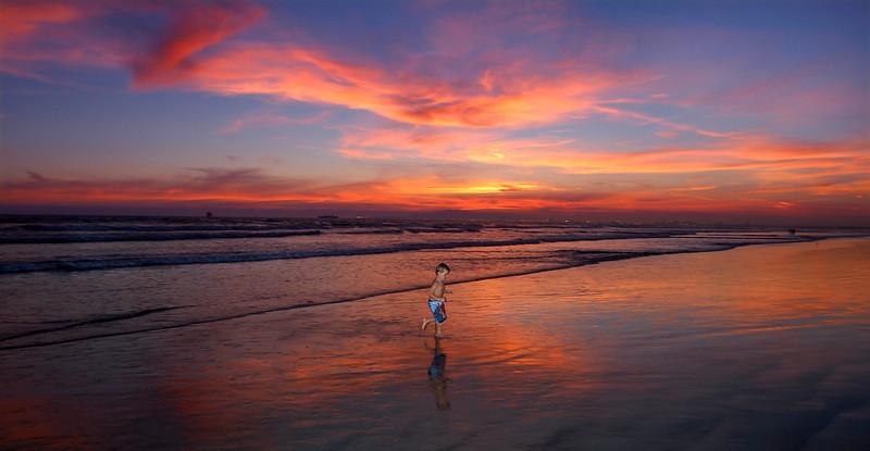 Jacob Sunset Beach Desktop