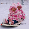 Riding the sled