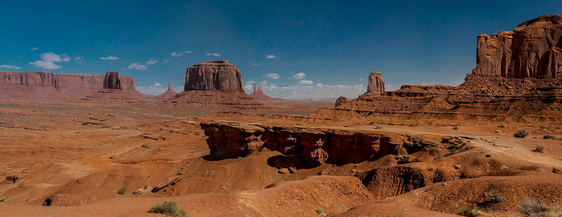 John Ford Point, made famous in several westerns. Monument Valley.