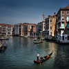 View from Rialto Bridge<br /> Venice, Italy