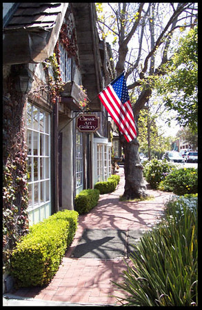 Downtown Carmel, Ca.
