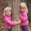 That's Kamryn hugging a tree in Hanging Rock State Park, NC