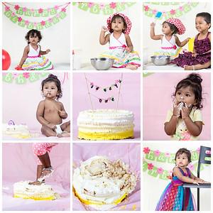Sarayu Cake Smashing