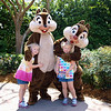 The girls love chipmunks, so Chip & Dale were a must!