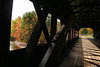 Inside the Swift River Bridge, New Hampshire.