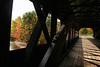 Inside the Swift River Bridge, New Hampshire.