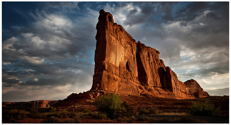 Courthouse Rock Arches National Park
