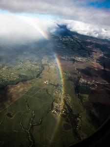 Arrival at Maui.