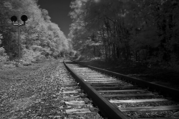 Infrared Train Tracks