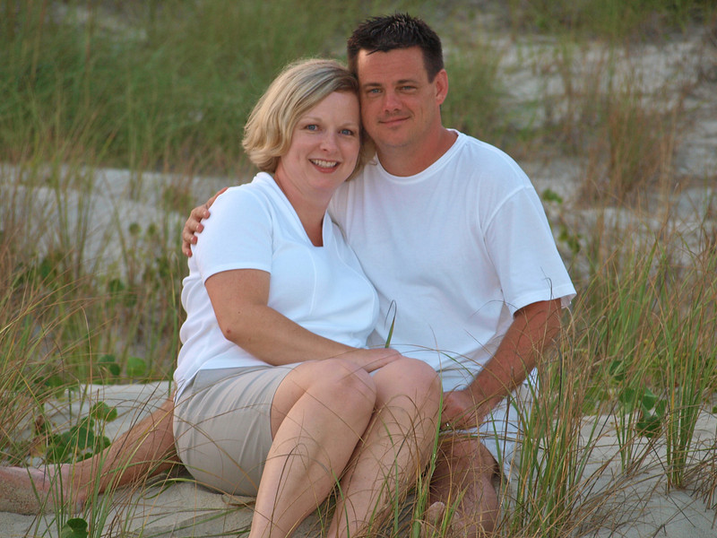Michelle & David at Emerald Isle, NC