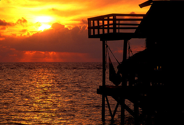 Roatan Honduras Sunset