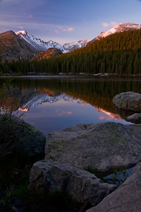 Bear Lake at sunrise