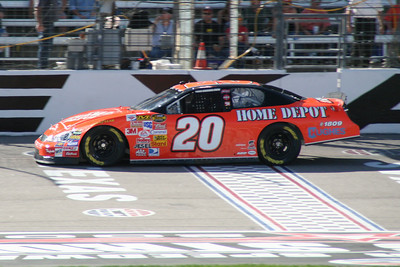 Tony Stewart at Texas Motor Speedway