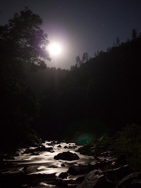 the yuba by moonlight