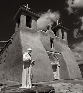 Ranche de Taos, San Francisco de Assis Church