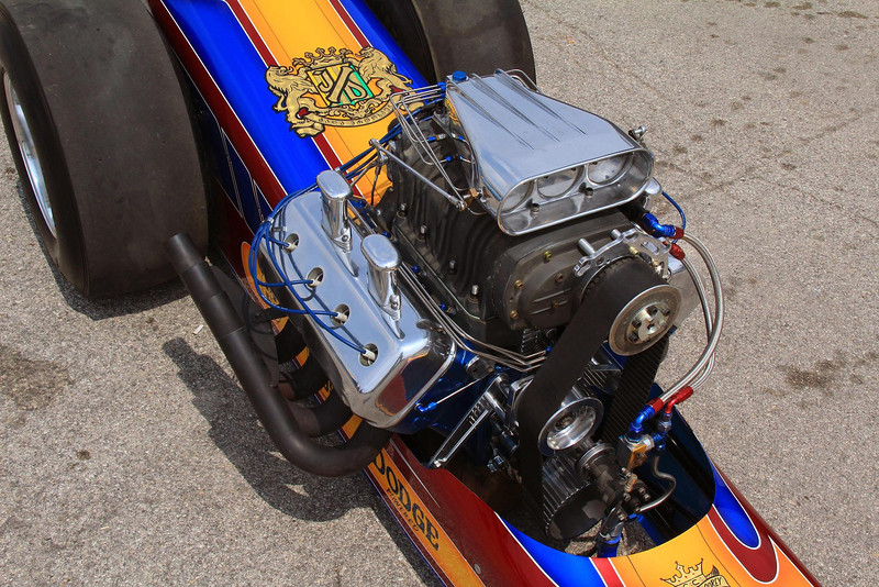 Top Fuel Dragster owned by John Dearmore.