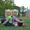 Relaxing on the Palace Green in front of the Governor's Palace, Williamsburg, VA
